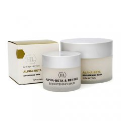 Holyland Laboratories Осветляющая маска Brightening Mask 50 мл (Holyland Laboratories, Alpha-Beta & Retinol)